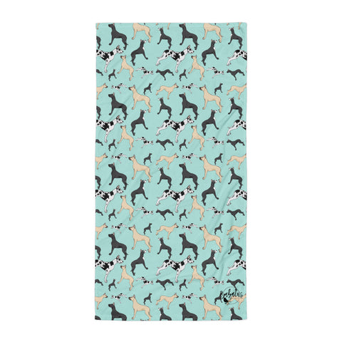Great Dane Towel