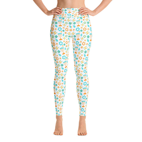 Hanukkah Yoga Leggings