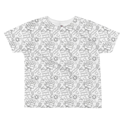 2fd151016 Movie Cinema All-over kids sublimation T-shirt
