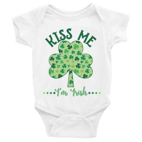 Kiss Me St Patricks Day Infant Bodysuit