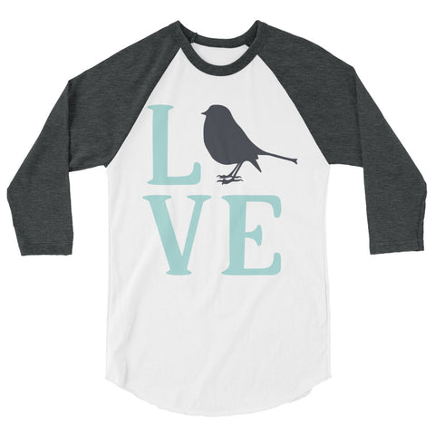 Babalus Love 3/4 sleeve raglan shirt