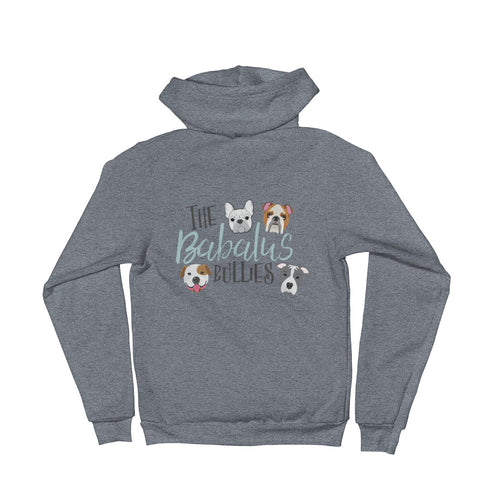 Babalus Bullies Pitbull French Bulldog English Bulldog American Bulldog ZIP Up Unisex Hoodie Sweater