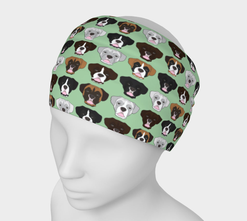 Boxer Face Headband