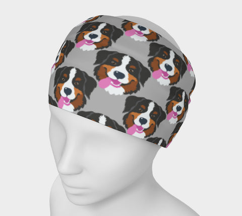 Bernese Mountain Dog Headband