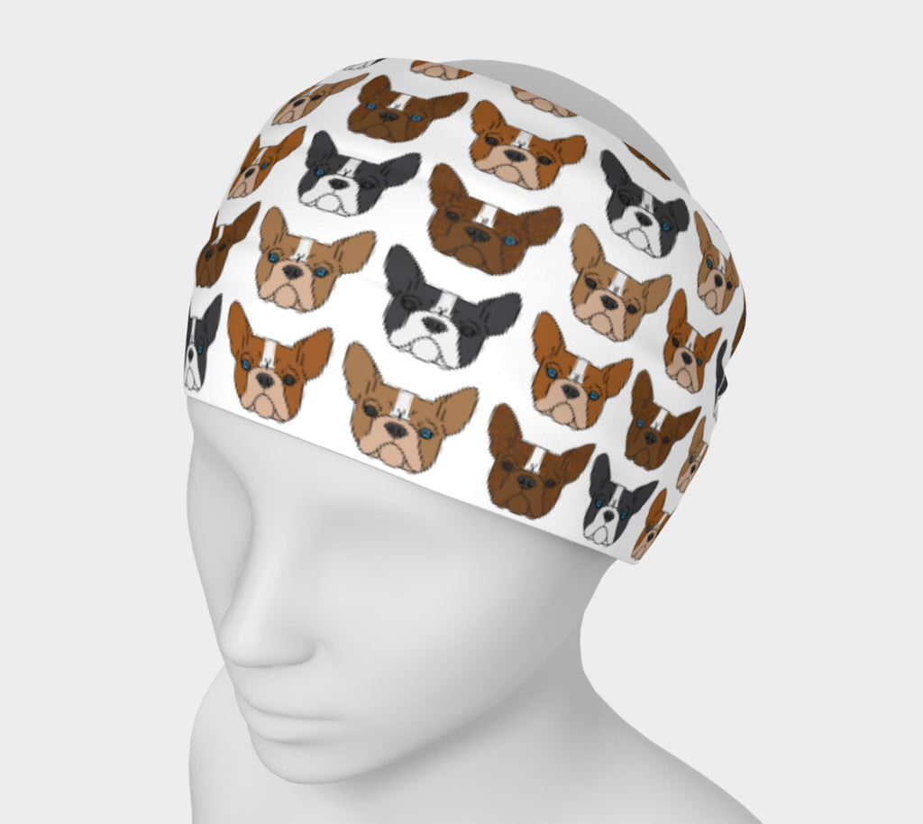 Boston Terrier Headband