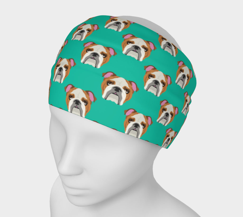 English Bulldog Headband