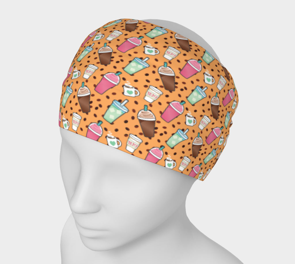 Coffee print Headband