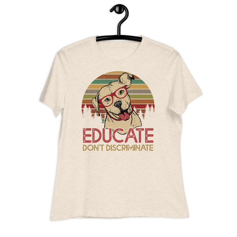 Educate Women's Graphic Tee