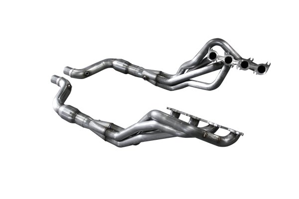 "American Racing Header-Mustang 5.0L Coyote 2015-2019  1-3/4""x3"" Up DIRECT CONNECTION System NO CATS"