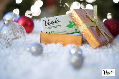 Veeda tampons Christmas decorations