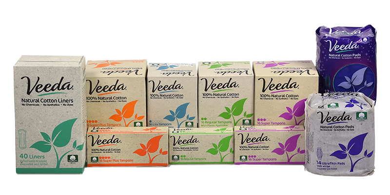 Veeda Natural Period Products
