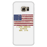 "GLMBuy - ""I Love America"" Samsung Phone Cases - Galaxy S6 Edge"