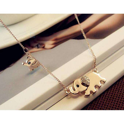 GLMBuy - Cute Elephant Necklace