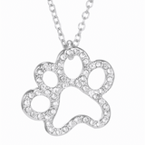 GLMBuy - Crystal Cat Necklace Offer - Cat Paw