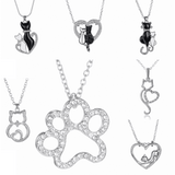 GLMBuy - Crystal Cat Necklace Offer