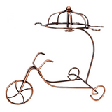GLMBuy - Wine Bicycle Rack & Glass Holder