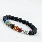 GLMBuy - 7 Chakra Healing Bracelet With Elephant Offer
