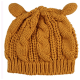 GLMBuy - Cat Ears Beanie - Gold