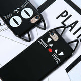 GLMBuy - The Black Cat Face iPhone Case
