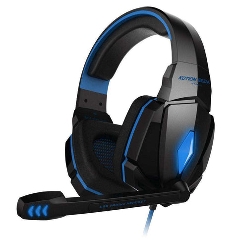 GLMBuy - G4000 Pro Gaming LED Headphones with Microphone