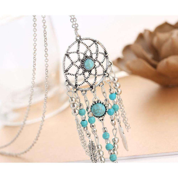 GLMBuy - Bohemian Dream Catcher Necklace