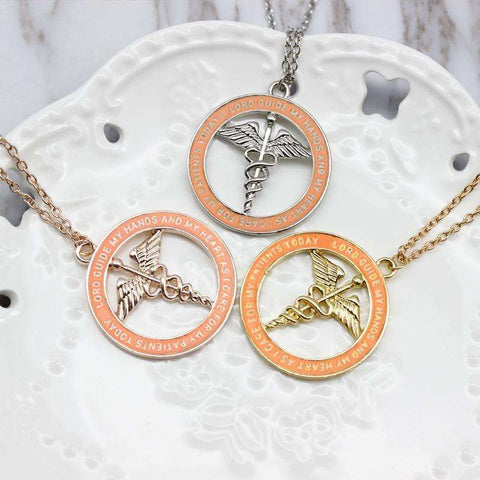 GLMBuy - Strength Of A Nurse Necklace - All 3 Necklaces (Complete Set & SAVE BIG!!!)