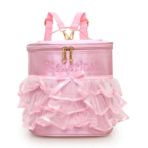 GLMBuy - Ballerina Princess Backpacks - Embroidered
