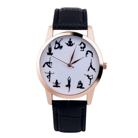 GLMBuy - YOGA All Day...Everyday Watch - Offer - Black