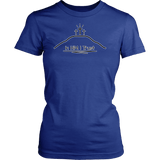GLMBuy - In HIM I Trust Tee - District Womens Shirt / Royal Blue / XS