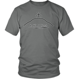 GLMBuy - In HIM I Trust Tee - District Unisex Shirt / Grey / S