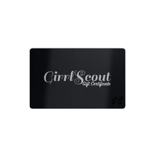 Girrlscout Gift Certificate
