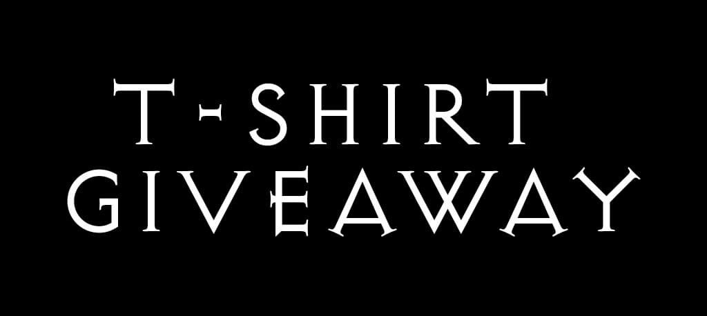 Secret Monthly T-Shirt Giveaway on Instagram
