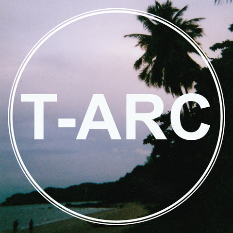 T-ARC logo with a tropical sunset in the background.