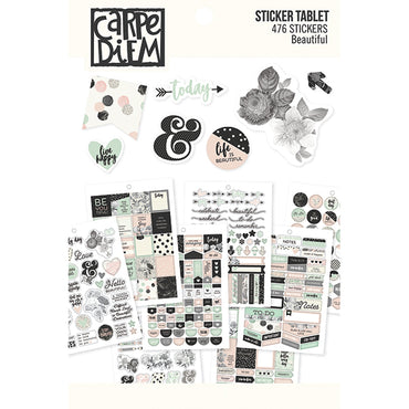 Libro de 476 Pegatinas (Beautiful Sticker Tablet)