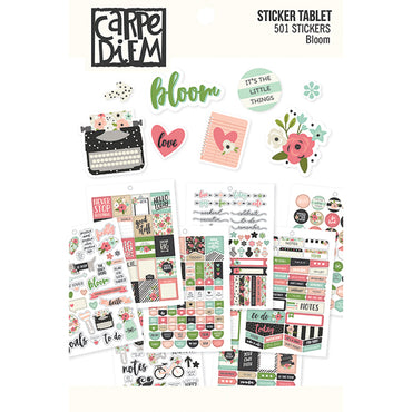 Libro de 501 Pegatinas (Bloom Sticker Tablet)
