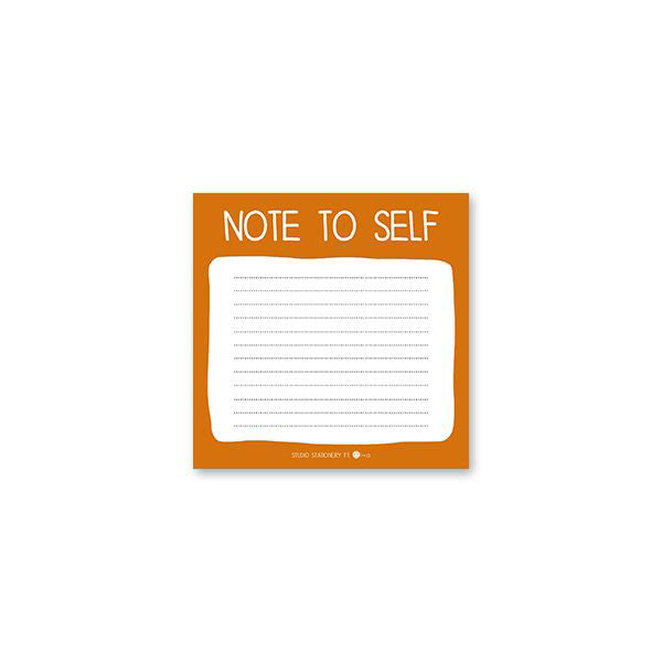 Bloc de Notas: Note to Self
