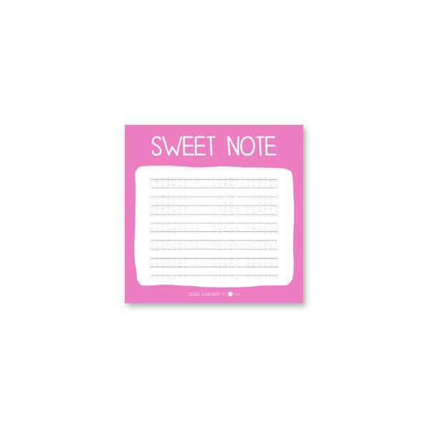 Bloc de Notas: Sweet Note