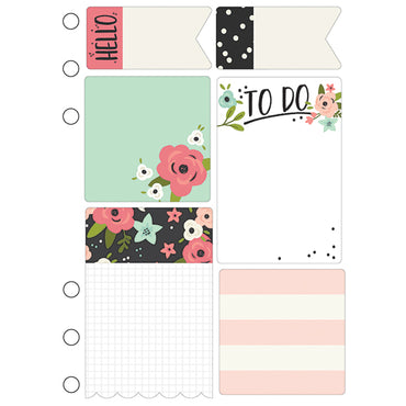 Marcapáginas con post-it (Bloom Sticky Notes) – Planner A5