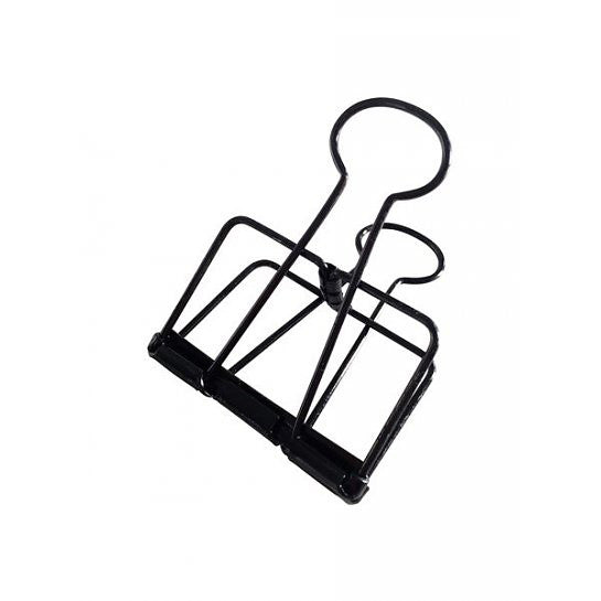 Clips de carpeta XL (Negro)