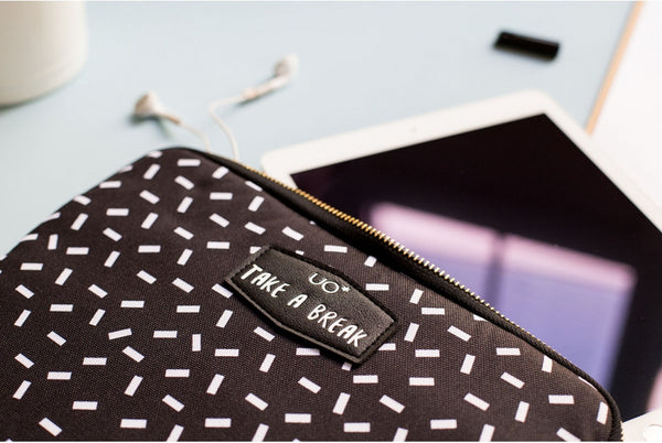 "Estuche / Funda para Tablet: ""Take a Break"""