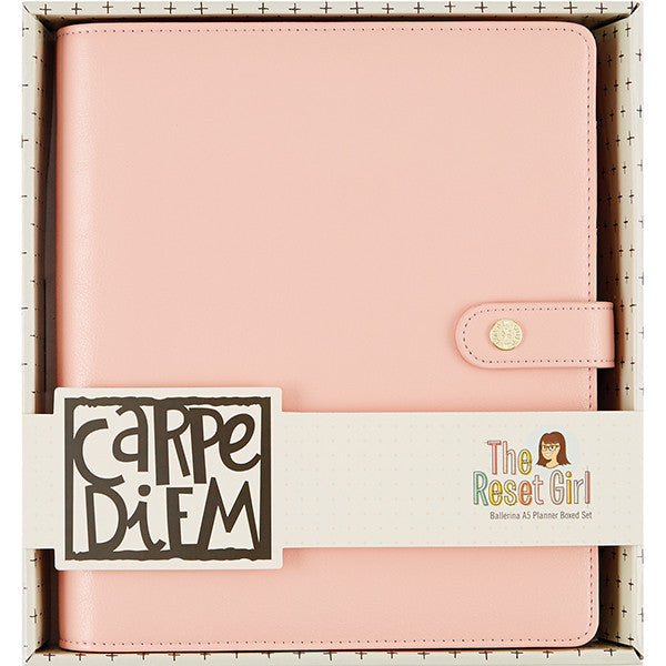 Planner A5 - The Reset Girl (Ballerina), de CARPE DIEM