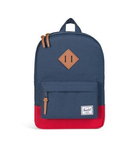 ZAINO HERITAGE BACKPACK YOUTH CLASSIC BLUE RED