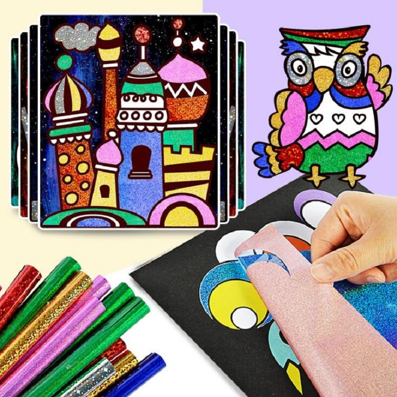 9pc Magic Transfer DIY Craft for Kids (50% Off NOW!)