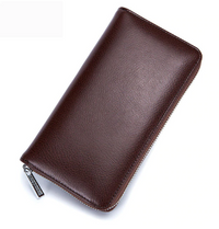 Leather Long Wallet (36 cards holder)