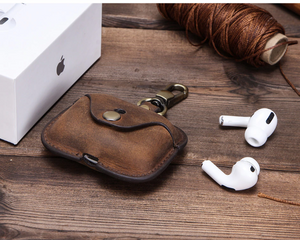 Leather Airpod Case