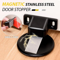 Invisible Magnetic Doorstop