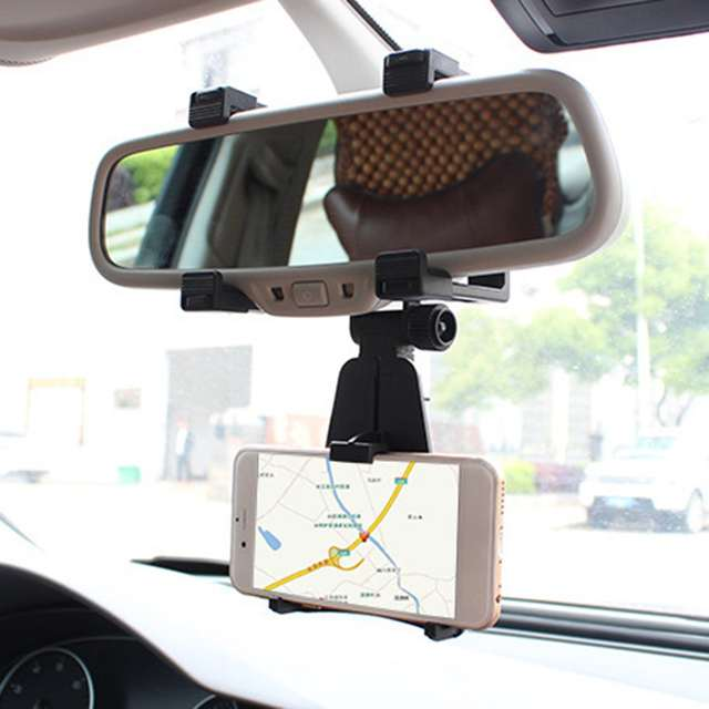 Car Rearview Mirror Phone Holder (40% OFF NOW!)