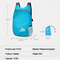 Outdoor Lightweight Foldable Daypack