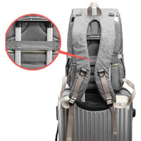 Modern Laptop Diaper Bag with USB Charging Port