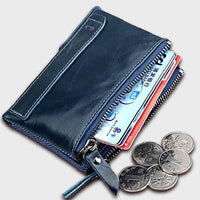 Bellman Leather Wallet with Cardholder & Coin Pouch